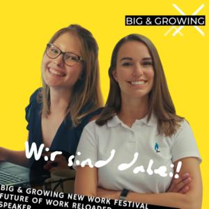 5 Tage lang dreht sich in München beim Big & Growing New Work Festival 2020 alles um die #Arbeitswelt der Zukunft. #Purpose wird zum zentralen Anker einer jeden #Organisation. Aber wie geht Arbeiten mit Purpose wirklich? - Jetzt anmelden zu Magdalena Auracher´s und meiner Session am 18.11.20 um 12:00 Uhr: OMG-OKR! Unsere Erfahrung bei der Implementierung - auf der XING Communications Stage. Sei' auch dabei! → www.bigandgrowing.com #big20 #futureofwork #newwork Leanspirit Trainings #OKR